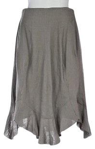 Saint Laurent Yves Womens Skirt Gray