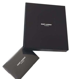 Saint Laurent Wallet Gift storage box plus Dust Cover and Authenticity Card