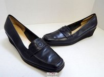 Salvatore Ferragamo Italy Black Platforms