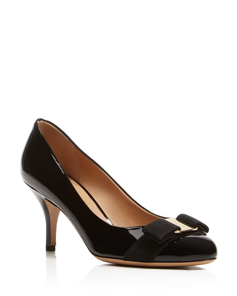 Patent leather pumps Salvatore Ferragamo IT1Hla