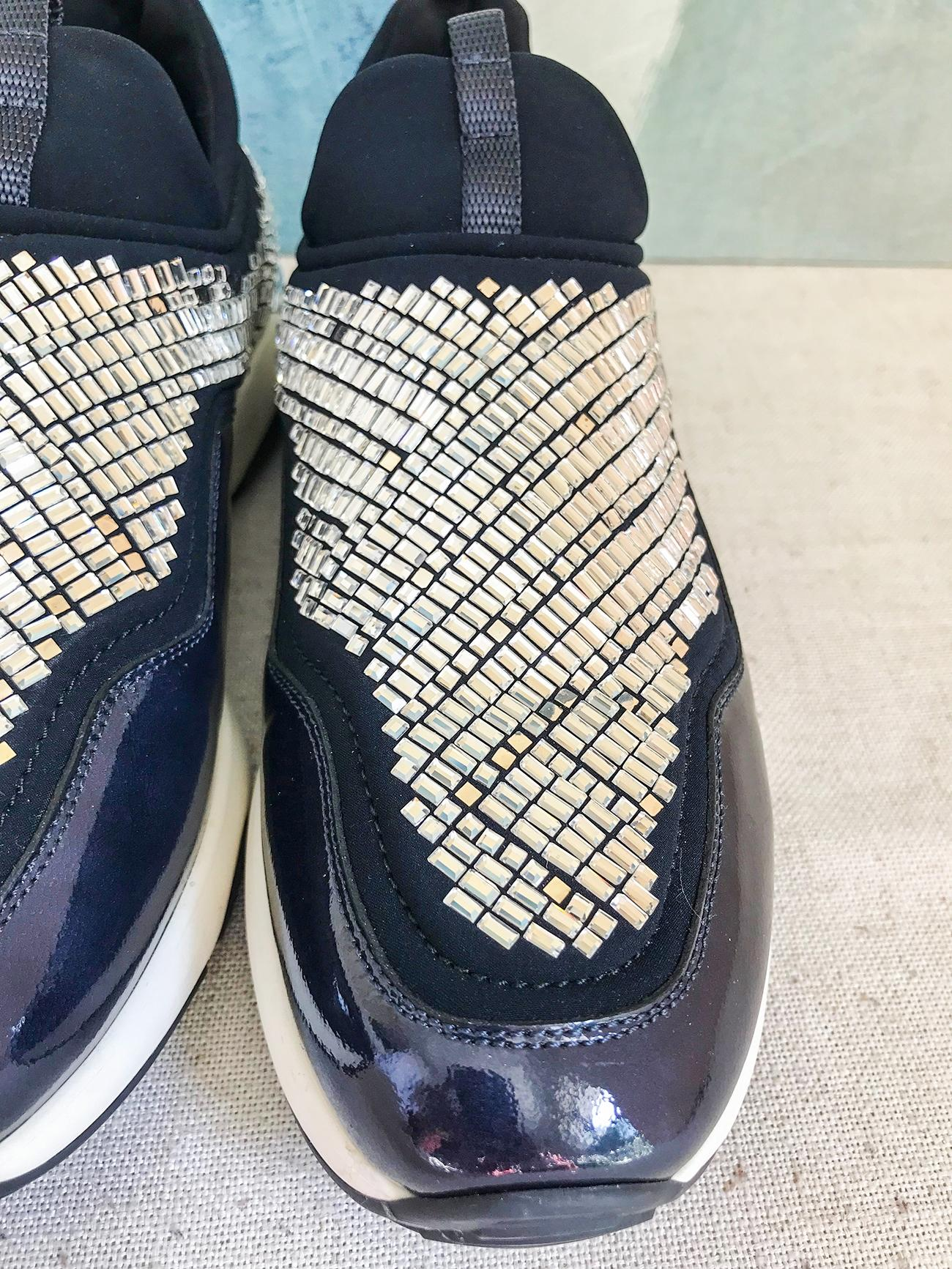 Giolly sneaker with crystal Salvatore Ferragamo OnIFtFq