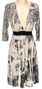 Sam & Max Floral V-neck A-line Dress