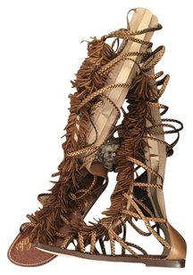 Sam Edelman Tan Bronze Sandals