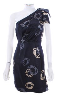SARIAH Limited Edition Flounce Silk Hand Painted Dress