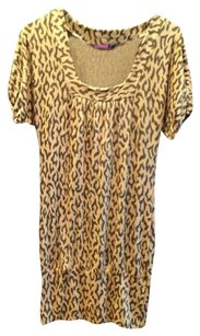 Say What? short dress leopard on Tradesy