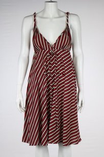 Searle Womens Red White Dress