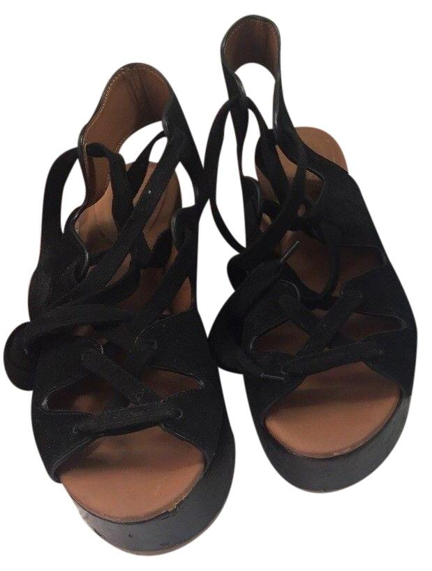 Sandals for Women On Sale, See By Chloe, Black, Leather, 2017, 3.5 4.5 8.5 Chlo