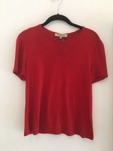 See by Chlo Chloe Summer T Shirt Red