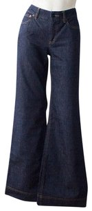 See by Chlo Chloe Blue Trouser/Wide Leg Jeans