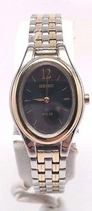 Seiko Seiko V114-0aa0 Womens Solar Dress Watch Broken Sold As Is