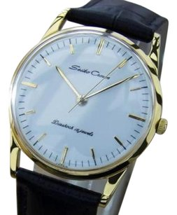 Seiko Seiko Crown Vintage 1950s Made In Japan Manual Gold Plated Dress Watc Q29