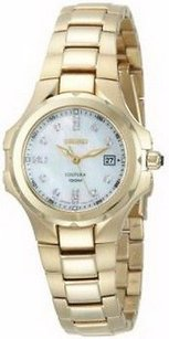 Seiko Seiko Womens Sxdb62 Coutura Gold-tone Mother Of Pearl Dial Watch 19dc