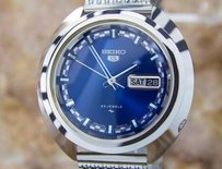 Seiko Vintage Seiko Automatic Sporty Mens 1970s Japanese Stainless Steel Watch L146