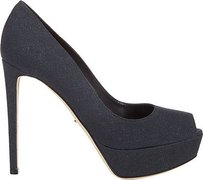 Sergio Rossi Black / Navy Platforms