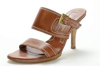 Sergio Rossi Leather Brown Sandals
