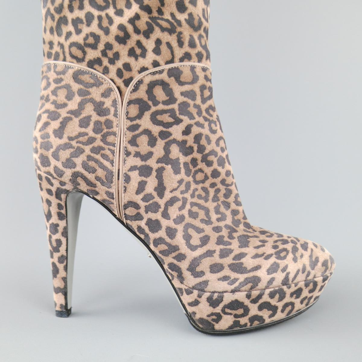 cheap looking for Sergio Rossi Printed Suede Booties cheap sale really buy cheap excellent free shipping good selling dD4dSJ