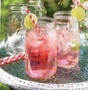 Set 12 Ball Mason Jars Clear Glass Drinking 32 Oz. Wide Mouth