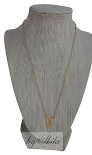 Shiekh 3 triangle necklace