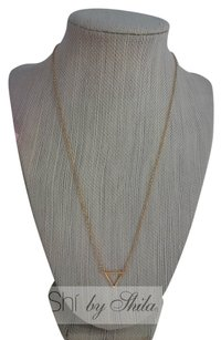 Shiekh Gold Triangle necklace