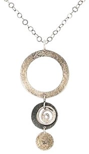 Silpada Silpada Contemporary Pendant Necklace 19 - Sterling Silver N1709