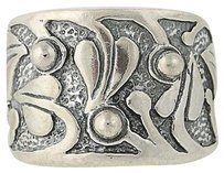 Silpada Silpada Holy Trinity Ring - Sterling Silver R1686 Chunky Statement Band