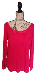 Simply Vera Vera Wang Top Raspberry