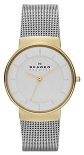 Skagen Denmark Skagen Womens Stainless Steel Mesh Bracelet 32mm Watch Skw2076