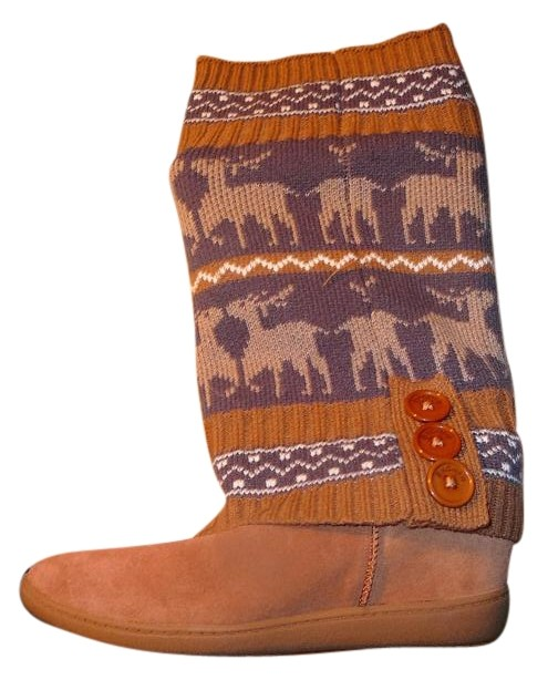 suede wedge reddish brown boots 20273531 boots