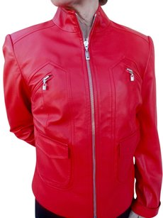 SoCa St. John Red Leather Jacket