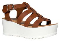 Soda Blu Brown Sandals