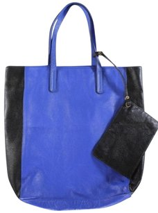 Sole Society Shoppers Tote in Blue