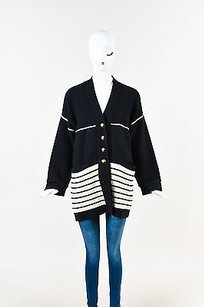Sonia Rykiel Navy Cream Sweater