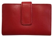 Sonoma small red snap wallet