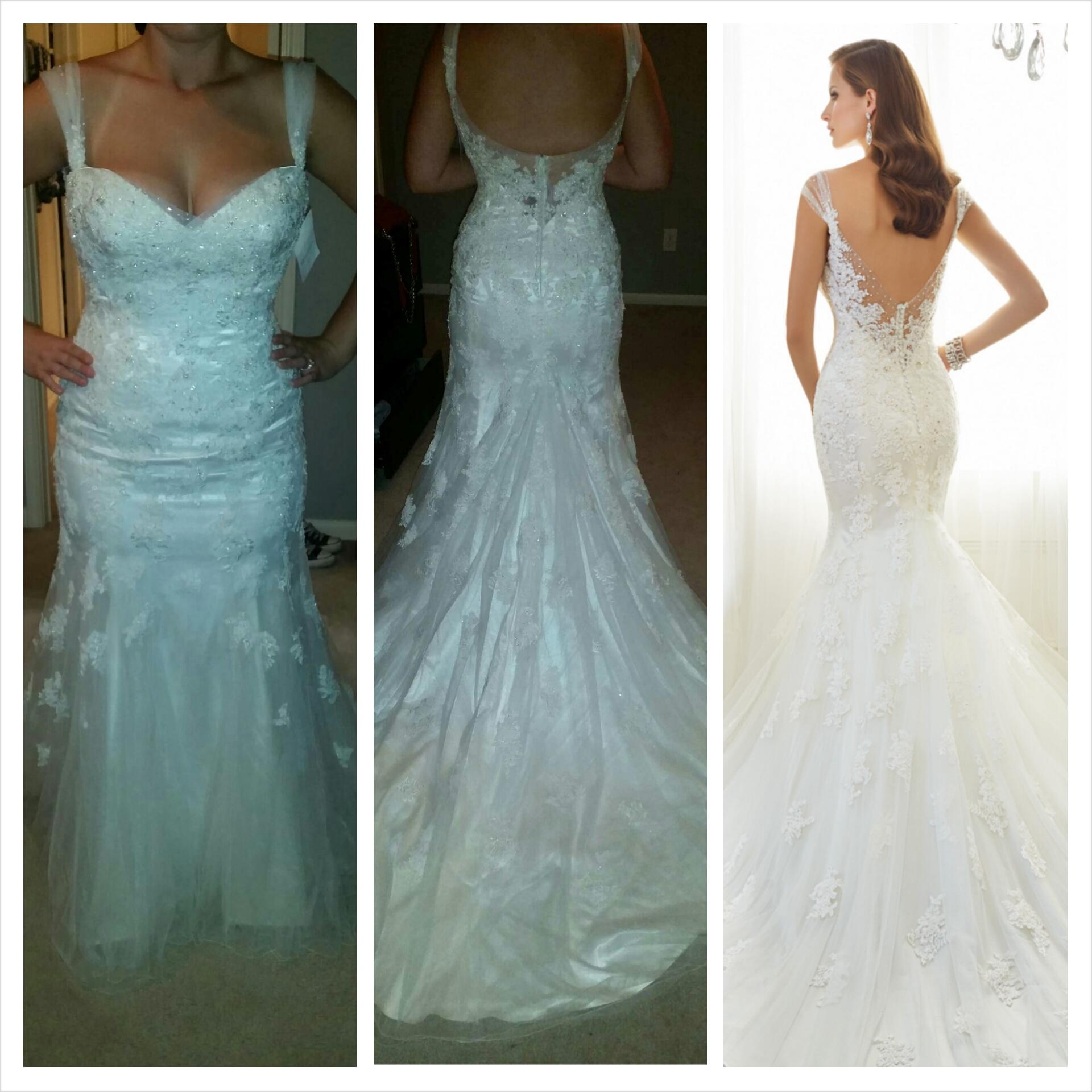 Cost Of Sophia Tolli Wedding Gowns: Sophia Tolli Ivory Lance And Tulle Jairta Y11569 Wedding