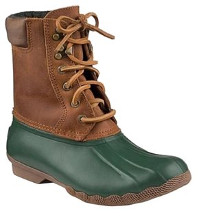 Sperry Green tan Boots