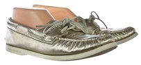 Sperry Top Sider Womens Gold Flats