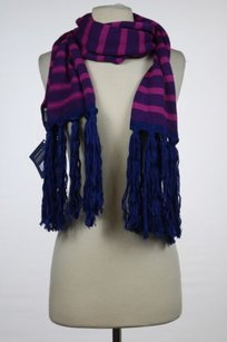 Sperry Sperry Top Sider Womens Magenta Purple Scarf Os Striped Casual