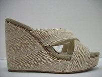 Splendid Kalypso Wedge Sandal Beige Platforms