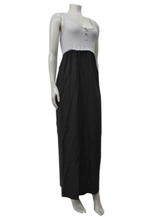 gray black Maxi Dress by Splendid Racer