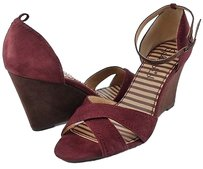 Splendid Dallas Wine Suede Multi-Color Sandals