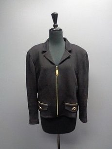 St. John Collection Black And Gold Jacket