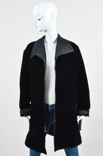 St. John Collection Quilted Black Jacket