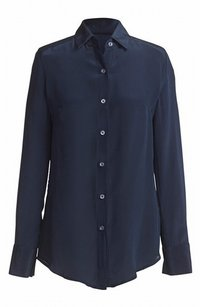St. John Button Down Shirt Long Sleeve Top