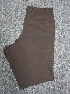 St. John Wool Straight Leg Pants