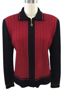 St. John St Collection Red Red/ Black Jacket