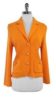 St. John Knit Orange Jacket
