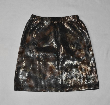 70%OFF St. John St John Couture By Marie Gray Santana Knit Sparkly Multicolor Sequin Skirt