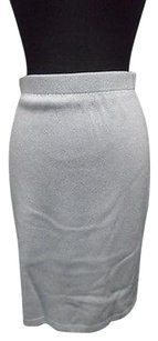 St. John St Collection Skirt Light Blue