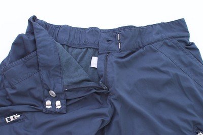 Stella McCartney Stretchy Zippers Athletic Pants Gray