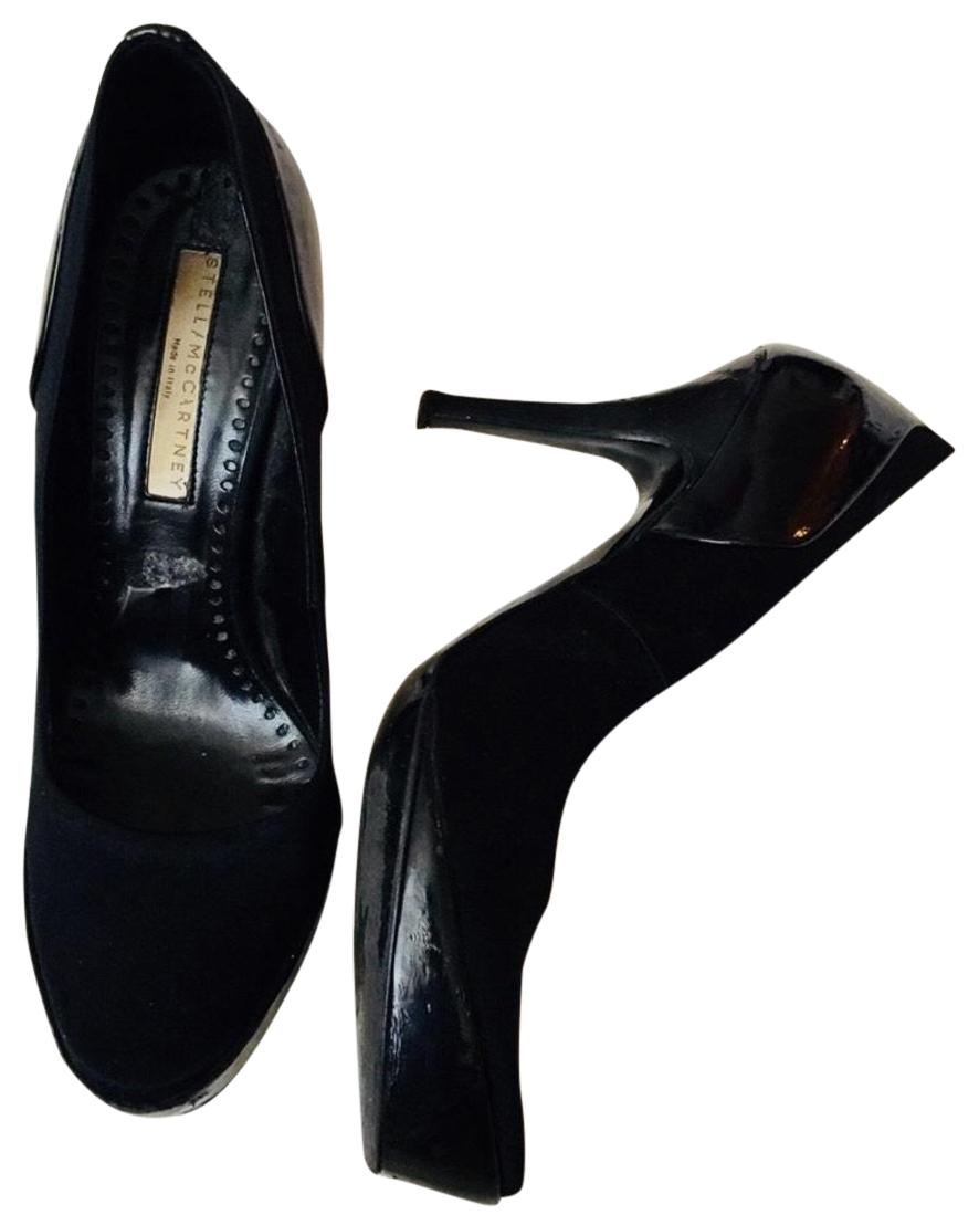 Stella McCartney Black Msrp Pumps Size US 6.5 Regular (M, B)